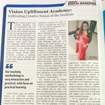 Award by Silicon India to Vision Upliftment Academy